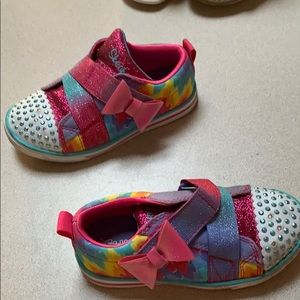 Preowned sketcher toddler sneakers beautiful!!!!